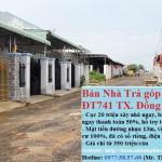 Bán nhà trả góp mặt tiền đường ĐT741 Tx. Đồng Xoài 350 triệu/căn