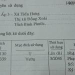 Bán đất nền Tiến Hưng Đồng Xoài gần KCN Bắc Đồng Phú