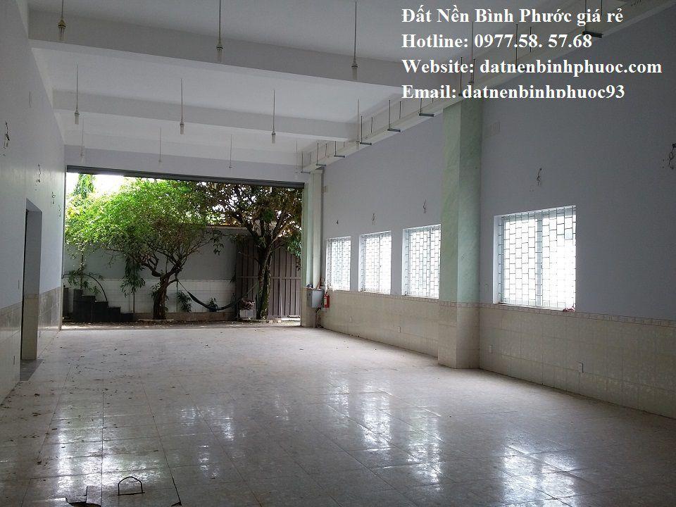 Bán gấp nhà xưởng huyện Đồng Phú – Bình Phước